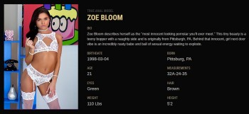 Zoe Bloom A Tight Fit For Zoe 990 pics 282.95 MB