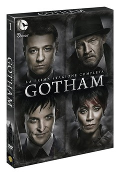 Gotham (2014–2019) Stagione 1 [ Completa ] 6 x DVD9 COPIA 1:1 ITA ENG FRA TED