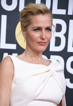 Gillian Anderson, Golden Globe Awards, L.A 05/01/2020