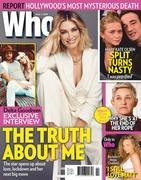 Delta Goodrem -        Who Magazine (Australia) June 1st 2020.