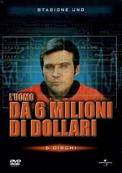 L'uomo da sei milioni di dollari (1974–1978) Stagione 1 [ Completa ] 5 x DVD9 COPIA 1:1 ITA ENG