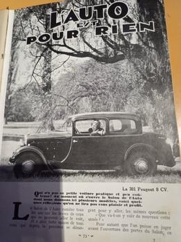 Salon de L'auto Octobre 1932 : Lecture pour tous E9acbe1353232022