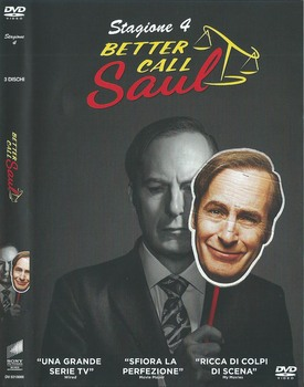 Better Call Saul - Stagione 4 (2019) [Completa] 3xDVD9 COPIA 1:1 ITA ENG GER