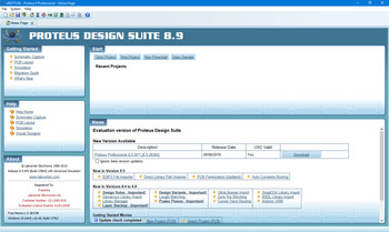 Proteus Professional 8.9 SP0 Build 27865 (EN)