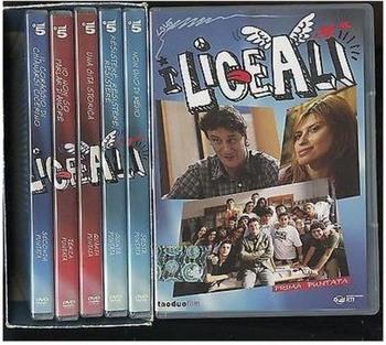 I liceali (2008-2011) Cofanetto [Completo] 4xDVD9 12xDVD5 COPIA 1:1 ITA