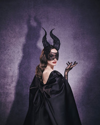 Angelina Jolie - promoting Maleficent: Mistress of Evil, 2019