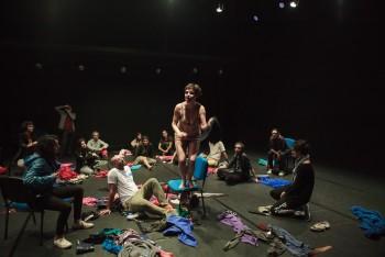 Stage naked vimeo on Naked On