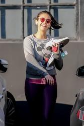 Nina Dobrev Leaving a Gym in West Hollywood, CA - 1/11/20