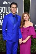 Isla Fisher   -       77th Annual Golden Globe Awards Beverly Hills January 5th 2020.