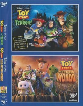 Walt disney - Toy story of terror + Toy story - Tutto un altro mondo (2013-2014) DVD9 COPIA 1:1 ITA ENG TED