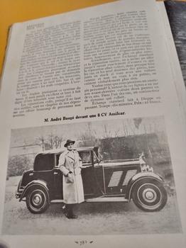 Salon de L'auto Octobre 1932 : Lecture pour tous 40ad501353232069
