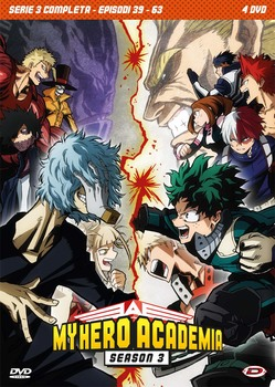 My Hero Academia (2021)  Stagione 3 [ Completa ] [ Collector's edition ]  4 x DVD9 COPIA 1:1 ITA JAP