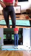 Candace Cameron Bure - Instagram Workout