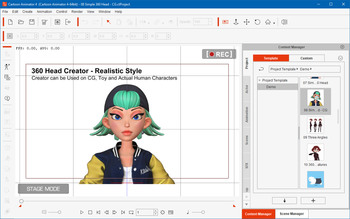 Reallusion Cartoon Animator 4.1.1022.1 Pipeline + Resource Pack (MULTI/ENG)