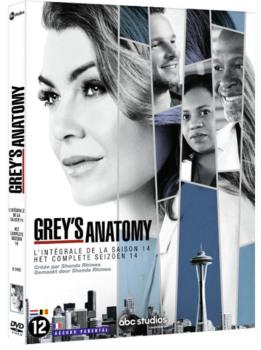 Grey's Anatomy (2018) Stagione 14 [ Completa ] 6 x DVD9 COPIA 1:1 ITA ENG SPA
