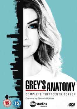 Grey's Anatomy (2017) Stagione 13 [ Completa ] 6 x DVD9 COPIA 1:1 ITA ENG SPA
