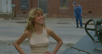 Jenilee Harrison: Tank Top In The 1984 Movie Tank: HQ x 1