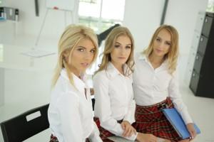 Kira Thorn, Tiffany Tatum, Missy Luv -