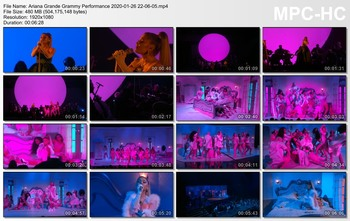 Ariana Grande - 62nd Annual Grammy Awards - Medley Performance - HD - 01-26-2020