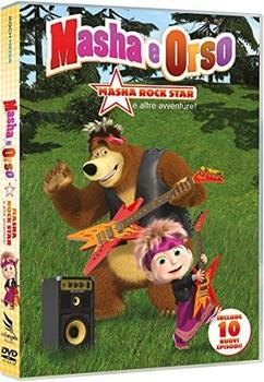 Masha e Orso - Masha Rock Star e altre avventure! (2009) DVD5 COPIA 1:1 ITA