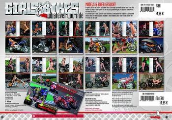 Girls & Bikes - Эротический календарь на 2020 год (2020) PDF