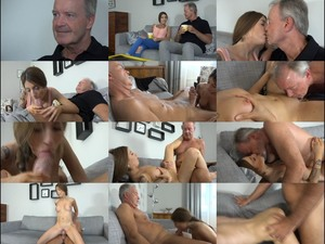 Young Daughter Fucks Her Daddy's Fat Cock