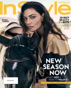 Phoebe Tonkin -     InStyle Magazine (Australia) September 2019.