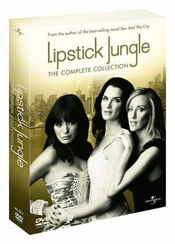 Lipstick Jungle (2008-2009) [ La collezione completa stagioni 1-2 ] 5 x DVD9 COPIA 1:1 ITA ENG