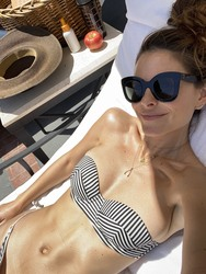 Maria Menounos in a Bikini - 5/16/20 Twitter Pic