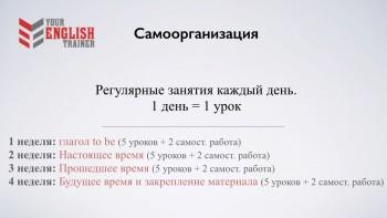 Your english trainer. Интенсив курс английского языка. Level 1,2,3 (Видеокурс)