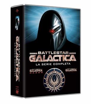 Battlestar Galactica (2004–2009) collection 20xDVD9 1xDVD5 + 2xDVD9 COPIA 1:1 ITA ING