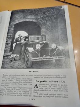 Salon de L'auto Octobre 1932 : Lecture pour tous C1af9a1353232083