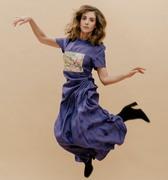 Alison Brie by Daniel Dorsa for The Observer Magazine