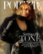 Carey Mulligan -       Porter Magazine April 2020.