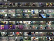 Compilation of girls peeing at a public festival (Run Piss 01_09)
